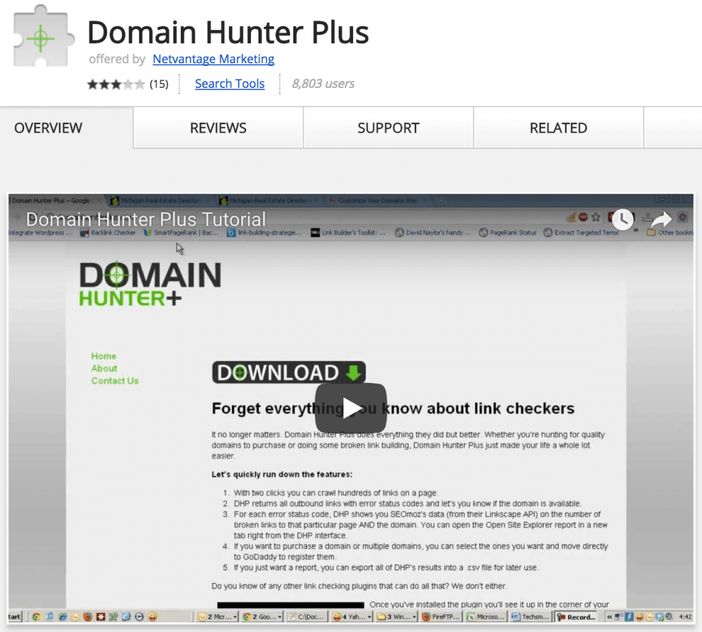 Domain hunter plus
