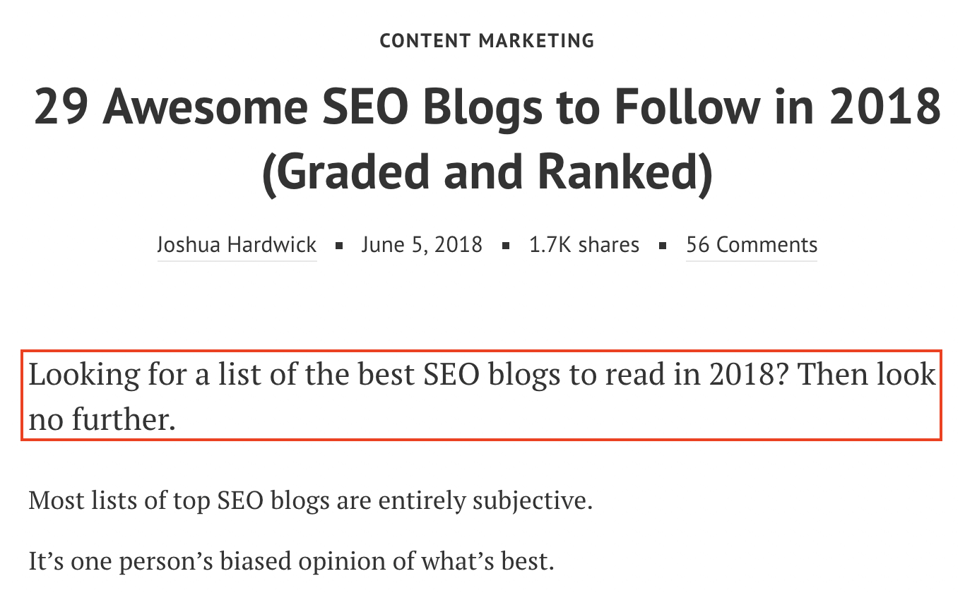 seo blogs to follow