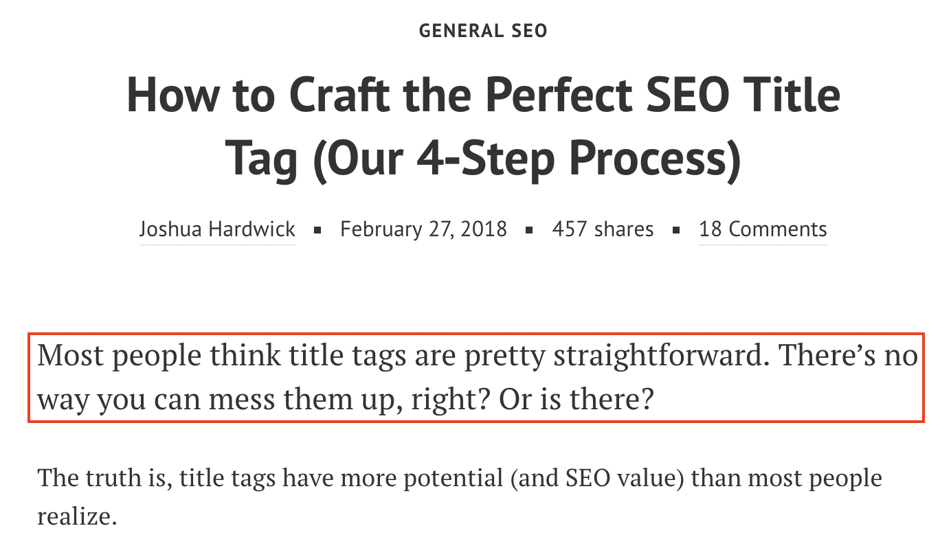 seo title perfect writing