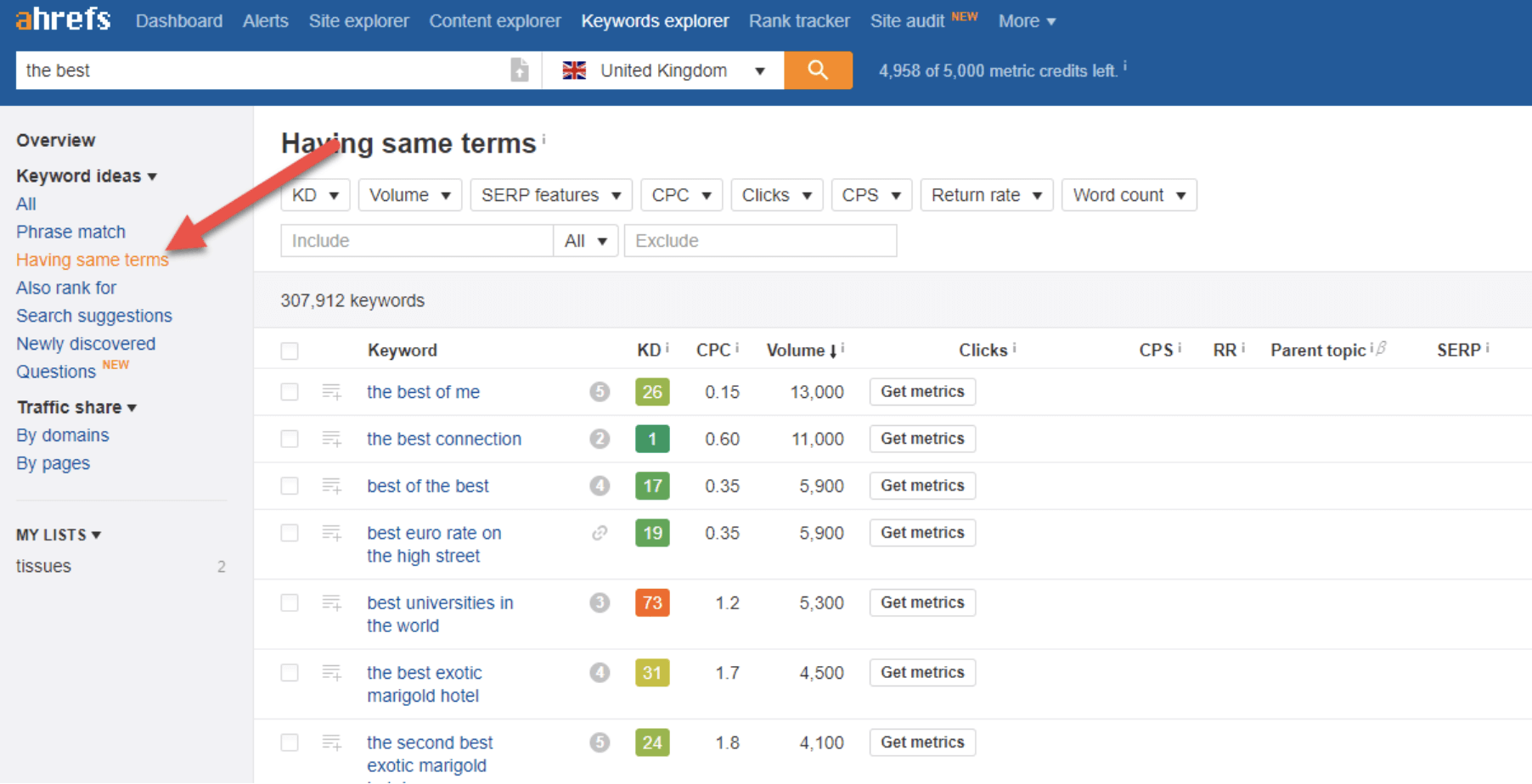 the best of keyword explorer