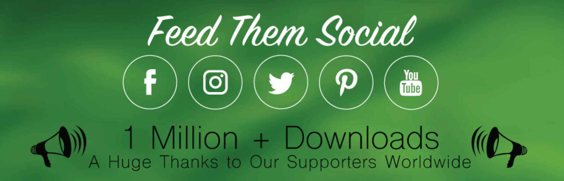 Feed them social Wp plugin