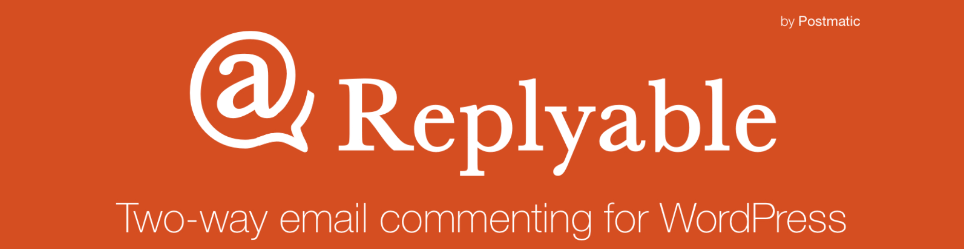 Replyable wp plugin