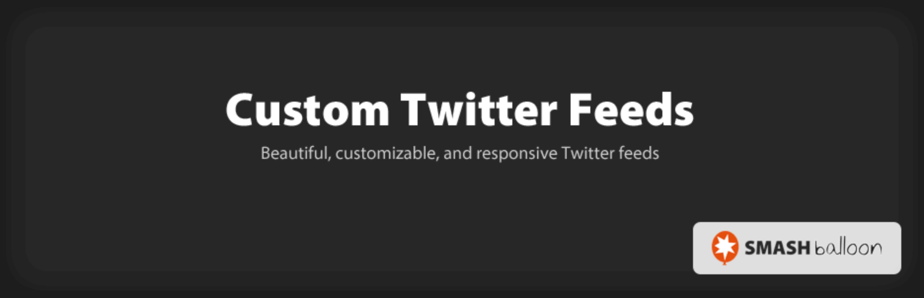Custom Twitter Feeds Wp Plugin