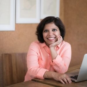 Prerna's portrait